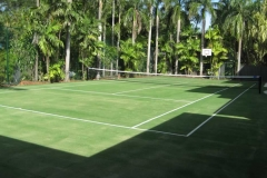 smallArtificial Grass Tennis Court