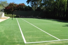 smallTennis court artificial grass