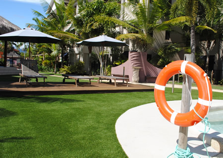 synthetic grass cairns